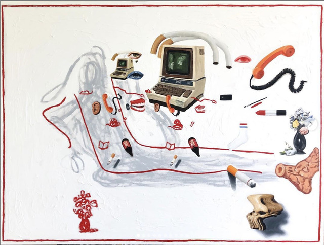 Emilio Villalba, 'Reclining Figure', 2019, Robert Kananaj Gallery