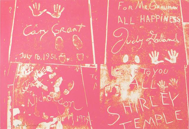 Andy Warhol, 'Sidewalk', 1983, Woodward Gallery
