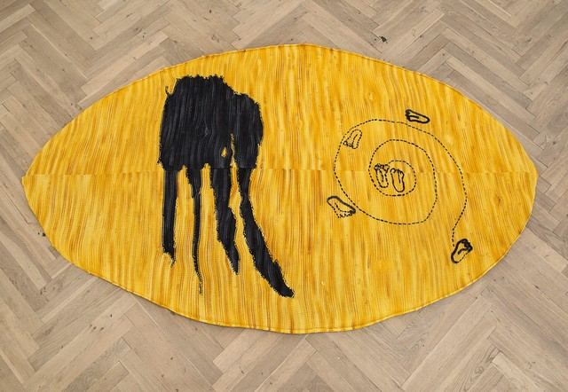 , 'CRYSTALLINE FLOORPIECE / OVAL / YELLOW,' 2012, Galerie Fons Welters