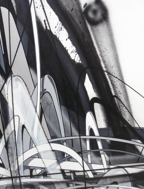 , 'Modules Noir et Blanc # 4,' 2017, GCA Gallery