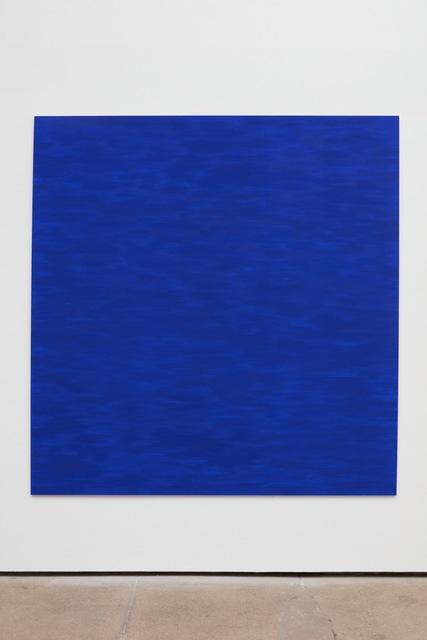 , 'Ultramarine blue,' 2017, Sean Kelly Gallery