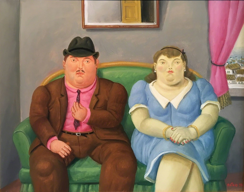 Couple on a Sofa
