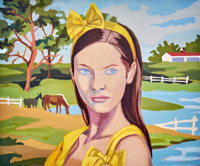 , 'Yellow Bow,' 2008, Arsenal Contemporary