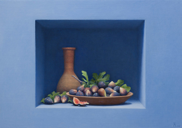 , 'Figs with Vessel,' 2014, Forum Gallery