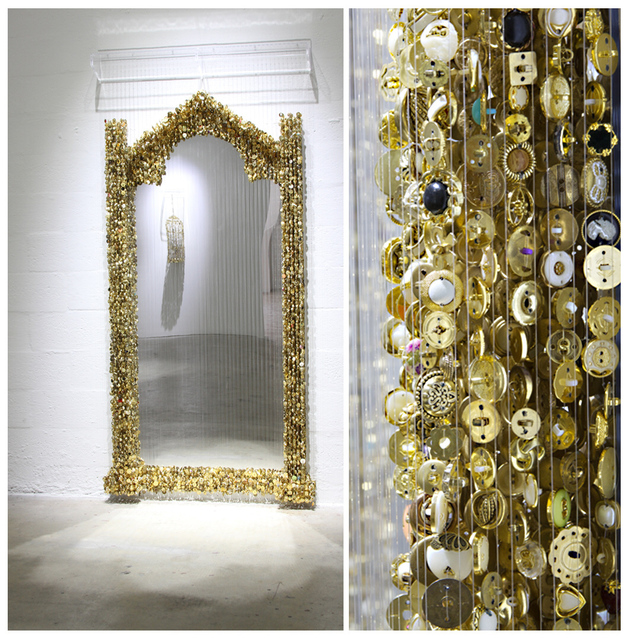 Augusto Maximilliano Esquivel, 'Golden Mirror, from: Never Upon a Time Series ', 2013, The Directed Art Modern