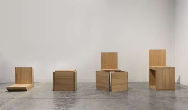, 'A Chair Not a Chair (Cube Variations I, II, III, IV),' 2016, Travesia Cuatro