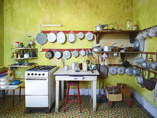 David Burdeny, 'Kitchen, Havana, Cuba', 2014, Galerie de Bellefeuille