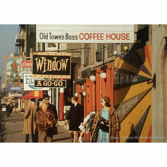 , 'Old Town's Boss Coffe Shop, Chicago 1970,' 2017, Gallery Victor Armendariz