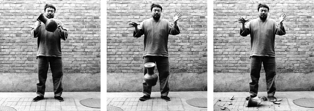 , 'Dropping a Han Dynasty Urn,' 1995, Royal Academy of Arts