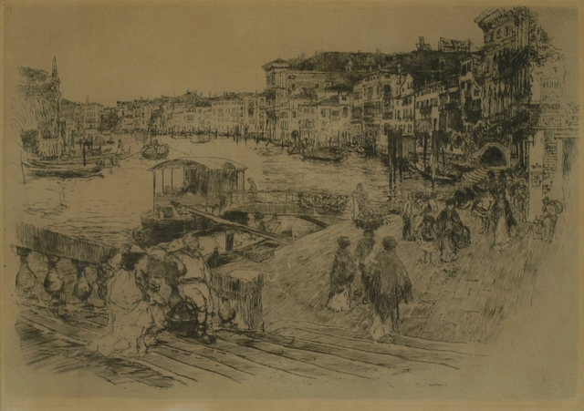 Frank Duveneck, 'Rialto, Venice', 1883, Private Collection, NY