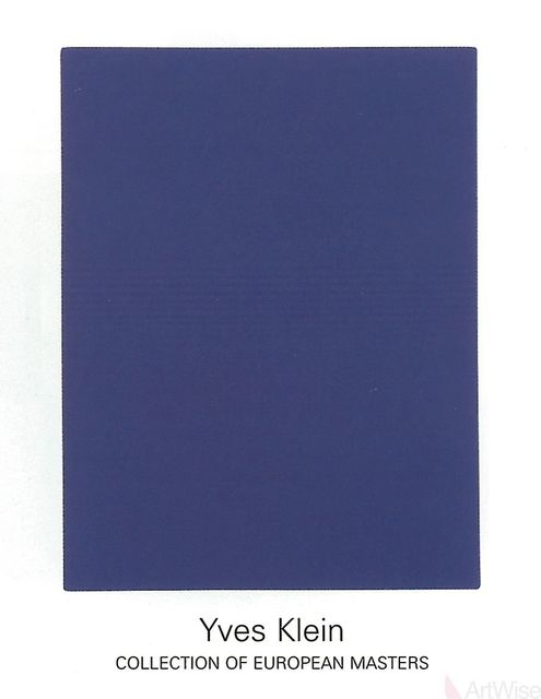 Yves Klein, 'IKB65', (Date unknown), ArtWise