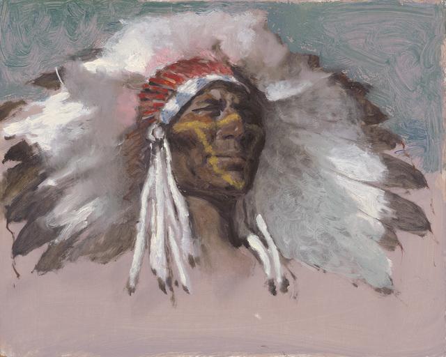Ernest Chiriacka, 'Chief', 1975-1982, Casweck Galleries