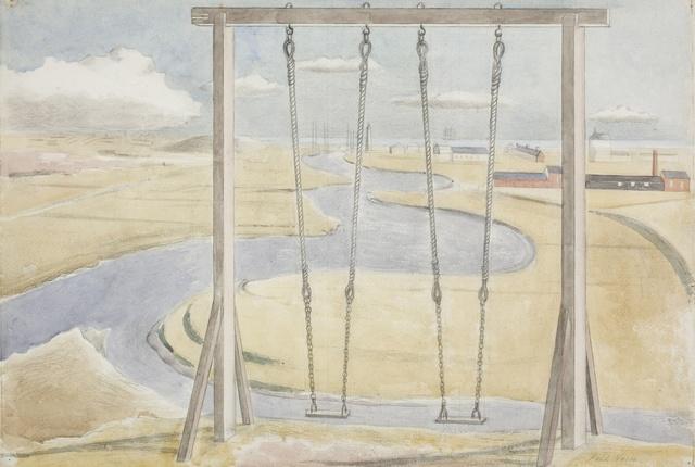 , 'River,' 1932, Piano Nobile