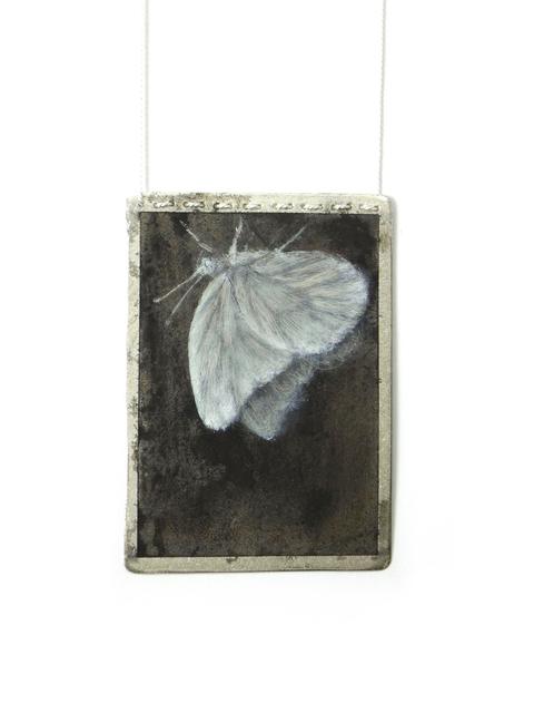 , 'Black and White Butterfly Pendant II,' 2016, Jewelers'Werk Galerie