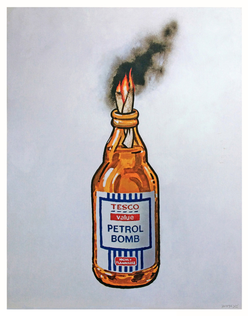 Banksy, 'Petrol Bomb', 2011, Olivia Connelly