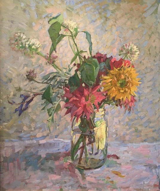 , 'Wildflowers in a Jar,' 2019, Grenning Gallery