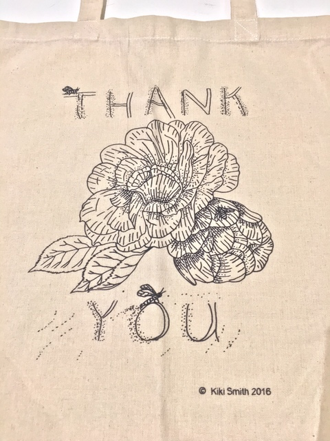 , 'Thank You Tote Bag,' 2016, International Sculpture Center