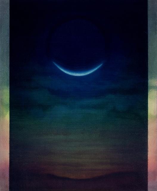 , 'Croissant de lune,' 2015, Galerie Les filles du calvaire