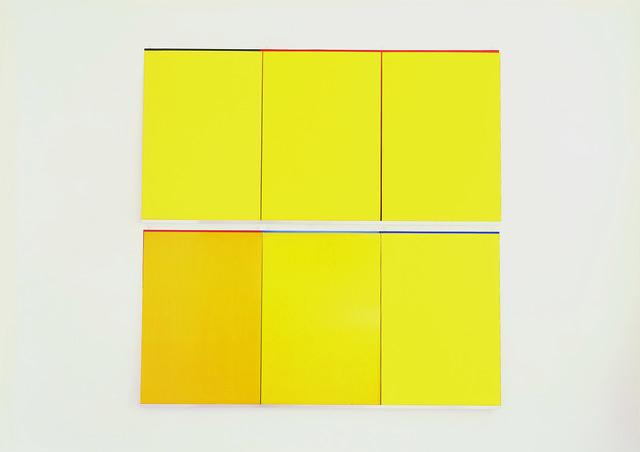 Imi Knoebel, 'Gelb Gelb 1', 2006, Jahn und Jahn