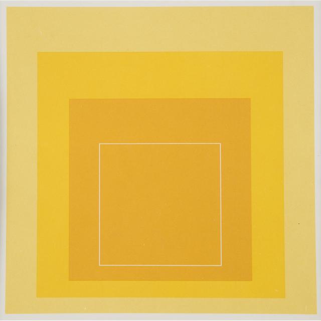 Josef Albers, 'Sample Portfolio (White Line Squares I-XIII)', 1966, Freeman's