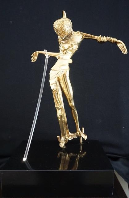 Salvador Dalí, 'Head of Roses Sculpture', 1981, Sculpture, Bronze with gold patina, Fine Art Acquisitions Dali