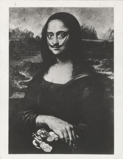 , 'Dali as a Mona Lisa,' 1954, °CLAIR Galerie