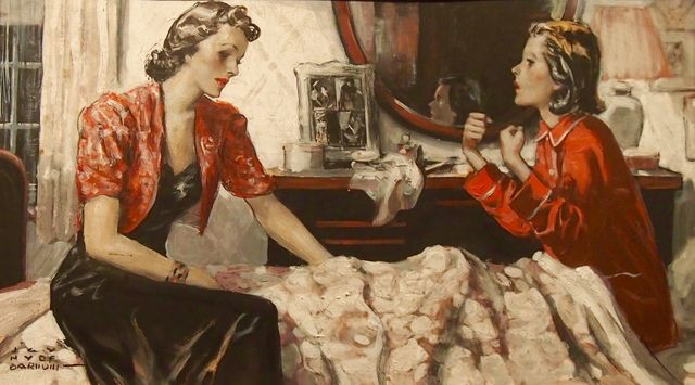 H. Y. Barnwill, 'Mother and Daughter', 20th Century, The Illustrated Gallery