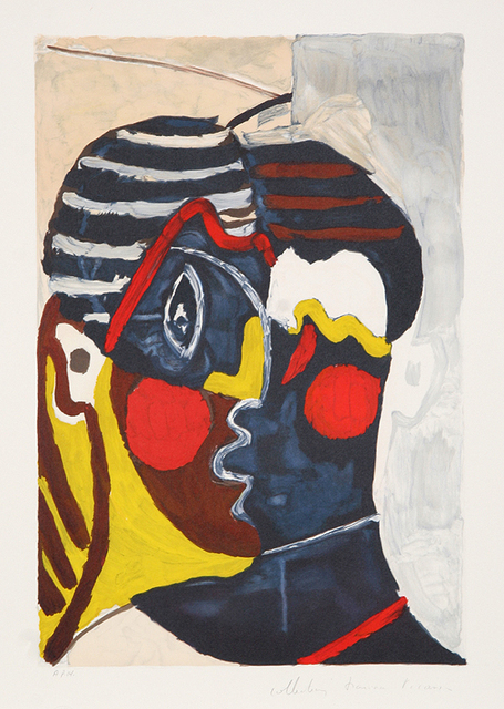 Pablo Picasso, 'Figure (Paulo en Costume d'Arlequin), 1926', 1979-1982, Print, Lithograph on Arches paper, RoGallery
