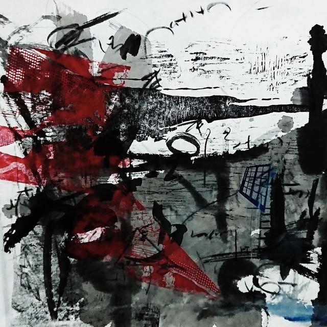 , 'Natural  Language  media  Documents IV ,' 2018, Galería Weber-Lutgen