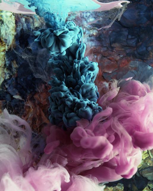 , 'Reminiscence of a Volcanic Eruption III,' 2017, Prosjektrom Normanns