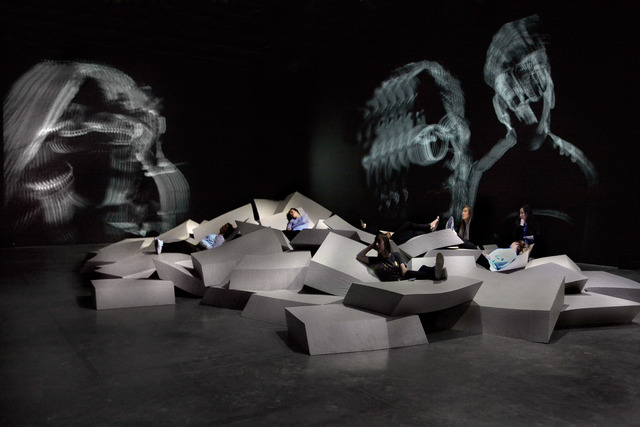 , 'Acquaalta,' 2015, Palais de Tokyo