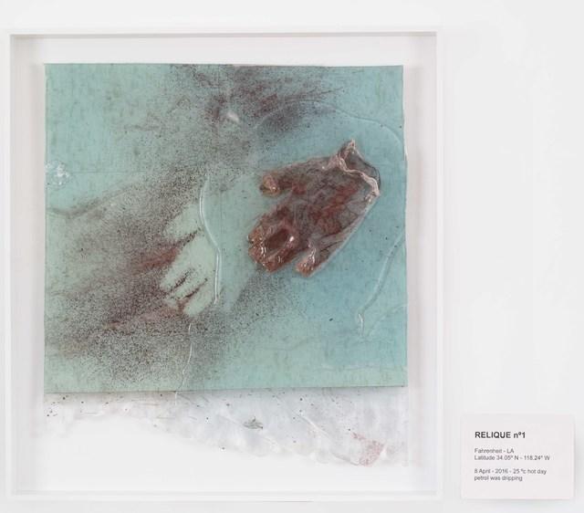 , 'RELIQUE n°1, 8 April 2016,' 2016, Galerie Nathalie Obadia