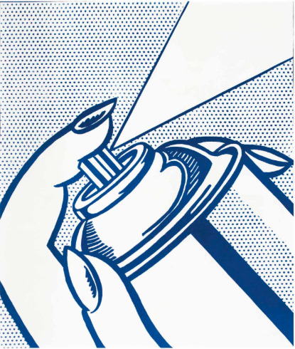 Roy Lichtenstein, 'Spray Can ', 1963, Stubbs Fine Art