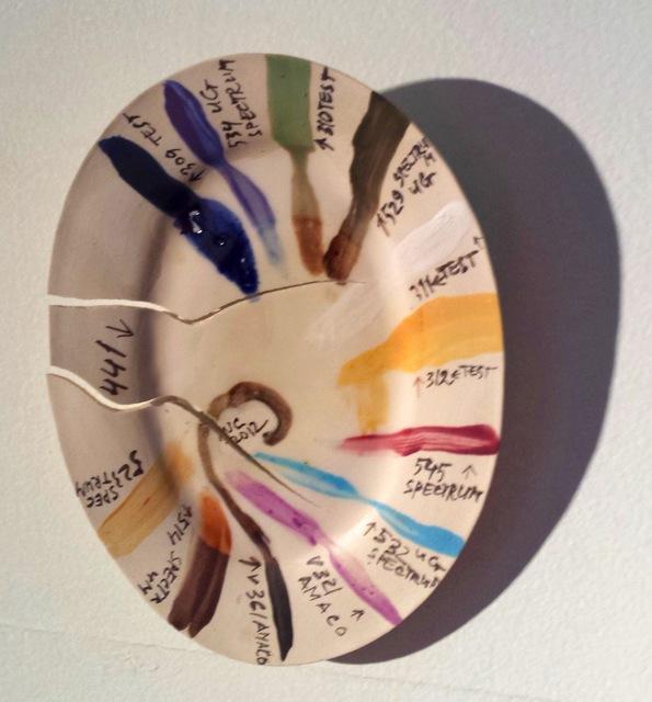 , 'Glaze palette,' ca. 2005, Robert Kananaj Gallery