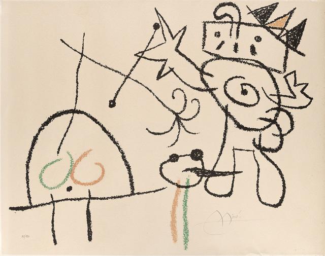Joan Miró, 'Ubu aux Baleares', Print, Colour lithograph on Arches paper, Il Ponte
