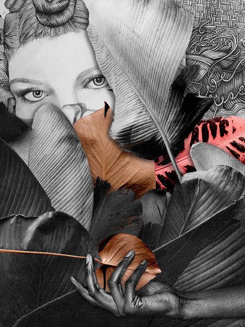 Lauren Clayton, 'Found', 2019, Print, Digital collage with original drawing, SHIM Art Network