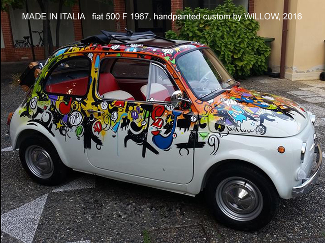 Willow Made In Italia Fiat 500 F 1967 2016 Available For