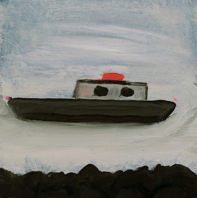 , 'boating to france,' 2017, Sears-Peyton Gallery