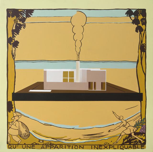 , 'Apparition inexpliquable,' 2015, CURRO