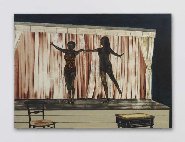 , 'Behind the Curtain,' 2014, David Zwirner