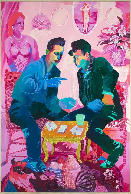 , 'Poker Face,' 2018, Rebecca Hossack Art Gallery