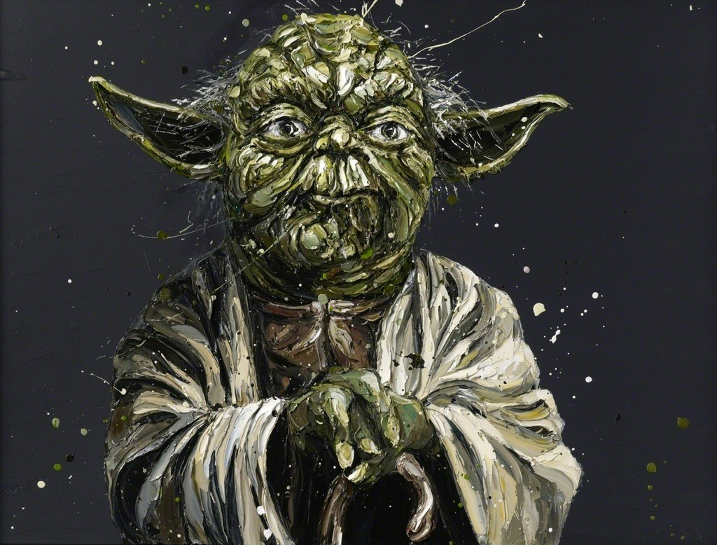 """""""Do or do not, there is no try"""" (Yoda)"""