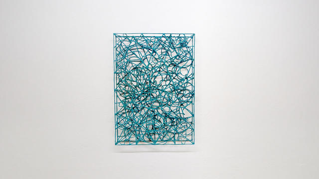 , 'Wire collide 1001,' 2019, The Flat - Massimo Carasi
