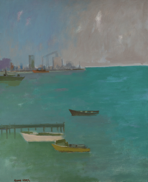 , 'The Harbor, Baltimore,' 1980, Debra Force Fine Art