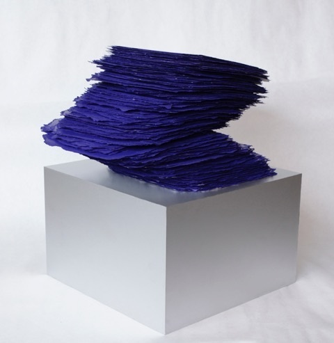 , 'Slab Series, Ultramarine,' 2016, Heather Gaudio Fine Art
