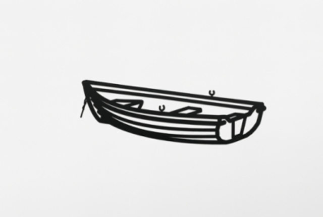 Julian Opie, 'Boat 2, from Nature 1 Series', 2015, Aurifer AG