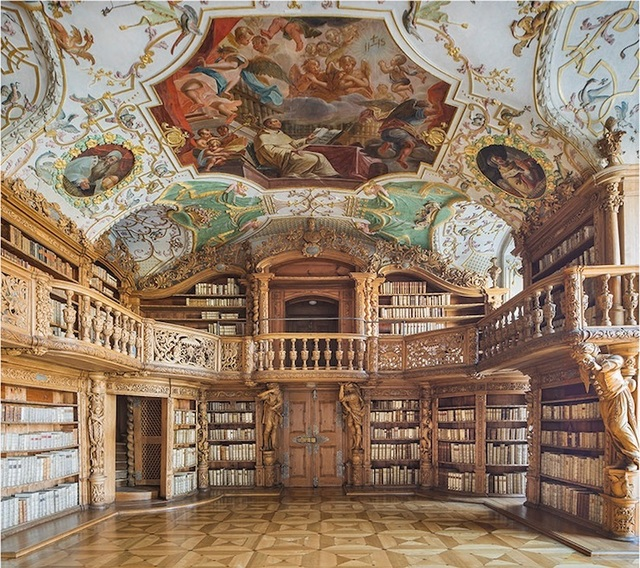 , 'The Vision - Library of the Abbey in Waldsassen ,' 2016, K + Y Gallery
