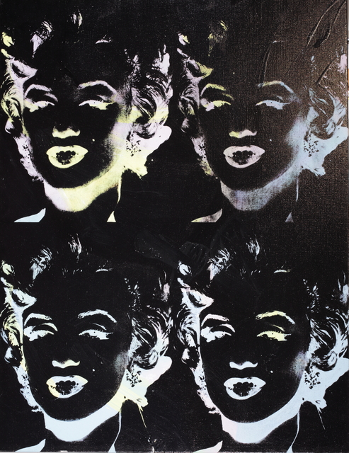 Andy Warhol, 'Four Marilyns (Reversal Series)', 1979-1986, Coskun Fine Art
