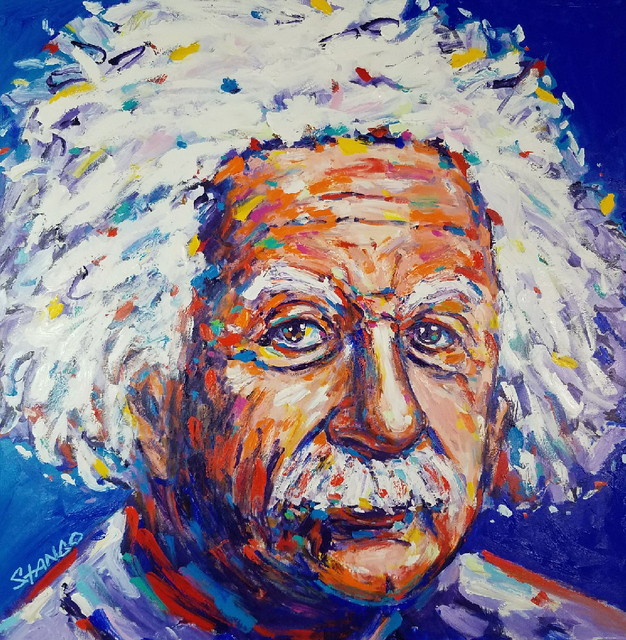 John Stango, 'Einstein ', 2018, Artist's Proof