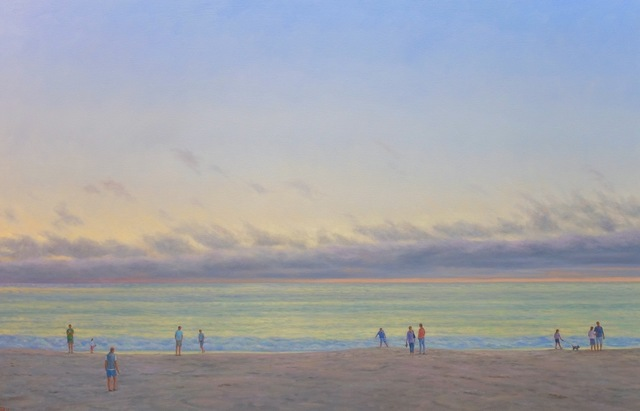 , 'Evening Beach III,' 2017, Andra Norris Gallery